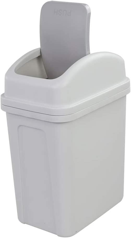 Dehouse 10 L Super sale 2.6 Gallon Trash with Plastic Sw Swing-Top Lid Large discharge sale Can