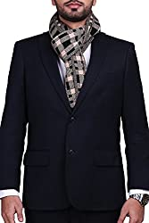CHOKORE Mens Casual Beige & Black color check Acrylic Woolen Muffler, Scarf & Stole for Winter.