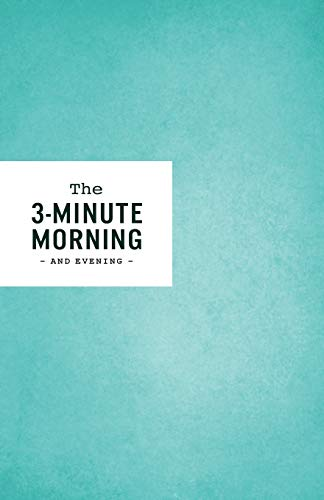 3-Minute Morning Journal: Intentions & Reflections for a Powerful Life