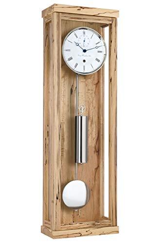 Hermle 70996-T30761 Relojes Regulador Relojes Mecánicos Haya