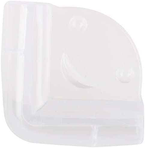 GLOGLOW Baby Saftey Clear Table Edge Protector,Clear Glass Desk Table Edge Corner Cushion Guard Protector Bumper 1PCS