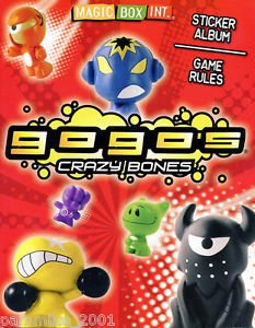 Magic Box Int. - Gogo´s Crazy Bones. Álbum Serie 1.