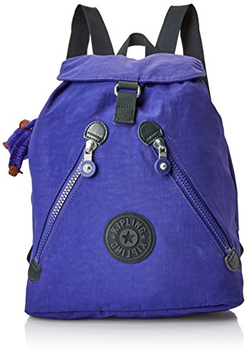 Kipling Damen FUNDAMENTAL Rucksack, Violett (Summer Purple), 42x42x16.5 cm