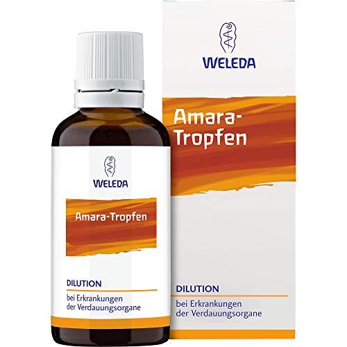 WELEDA Amara Tropfen bei Erkrankungen der Verdauungsorgane, 50 ml Lösung