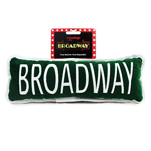 Vivadogs - Cartel Broadway - Juguetes para Perros - Juguetes para Perros...
