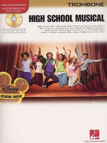 High School Musical - Trombone Book & CD