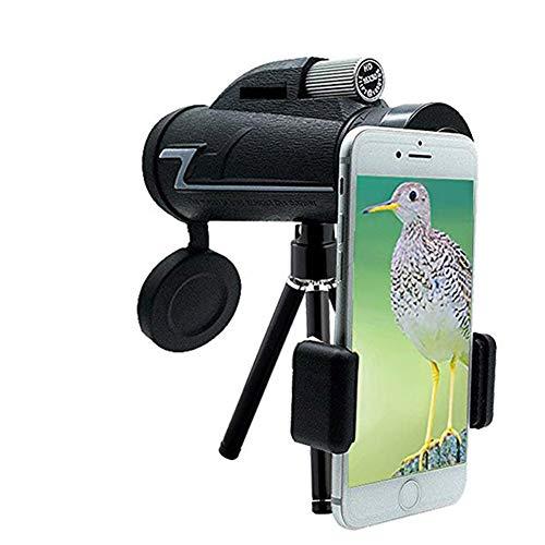 Best Buy! JXFS 16x50 Monocular Telescope, High Power Monocular, Tripod and Quick Smartphone Holder, ...