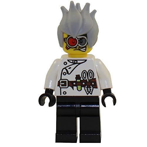Lego Monster Fighters Crazy Scientist Minifigure by LEGO