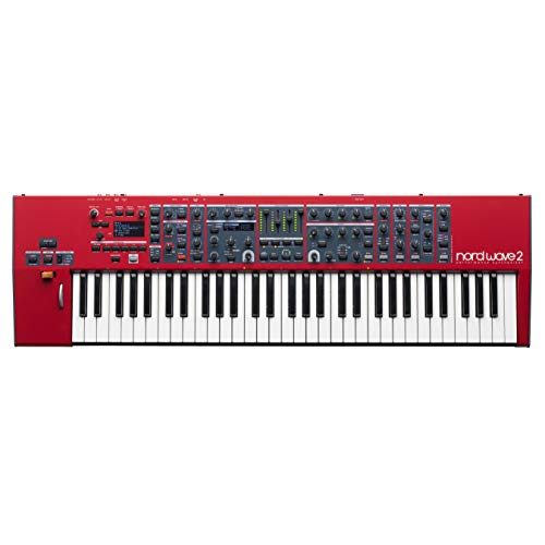Nord USA, 61-Key Wave 2 4-Part Performance Synthesizer, with Virtual Analog Synthesis, Samples, FM and Wavetable