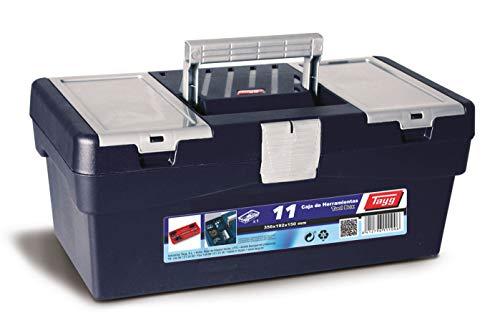 Tayg 370011 Werkzeugkasten aus Kunststoff Nr.11, blau