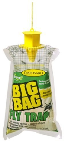 RESCUE  Big Bag Disposable Fly Traps  Quantity 4
