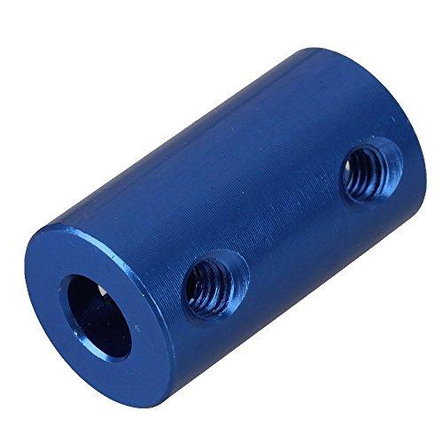 Coupleur rigide bleu 5 x 8mm - I3D Sélection - Mécanique imprimante 3D - Idéal pour moteur Nema 17 axe Z pour imprimante 3D - Couplage vis trapézoidale avec moteur Nema 17