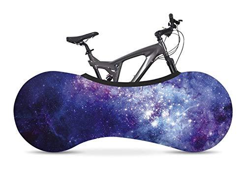 Velo Sock Galaxy Bike Cover, Unisex-Adult, Sirve para EL 99%