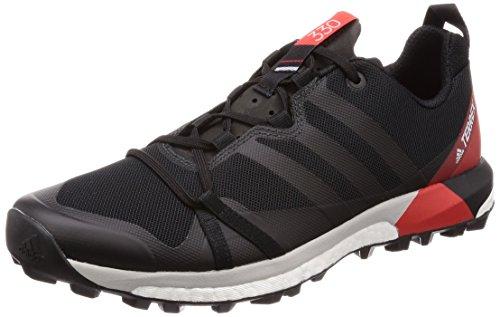 adidas adidas Herren Terrex Agravic Traillaufschuhe, Schwarz (Negbas/Carbon/Roalre 000), 44 EU