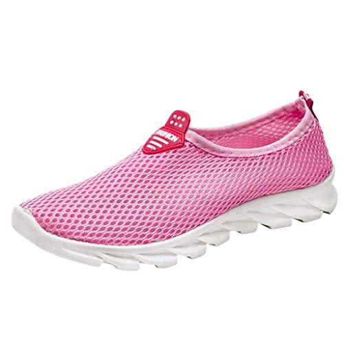 Committede Damen Sneaker Running Laufschuhe Sportschuhe rutschfeste Atmungsaktiv Leichte Turnschuhe Fitness Sneaker Outdoors Straßenlaufschuhe Sports