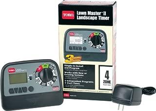Toro 53805 Lawn Master II 4-Zone Landscape Sprinkler System Water Timer