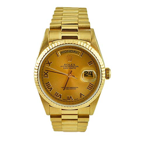 Rolex Day-Date 36 18k Gold Watch (Certified Preowned)