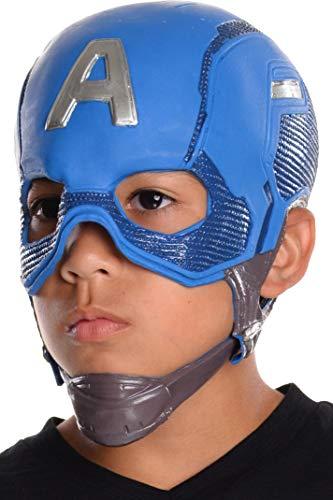 Rubie's Marvel Avengers: Endgame Child's Captain America 3/4 Mask