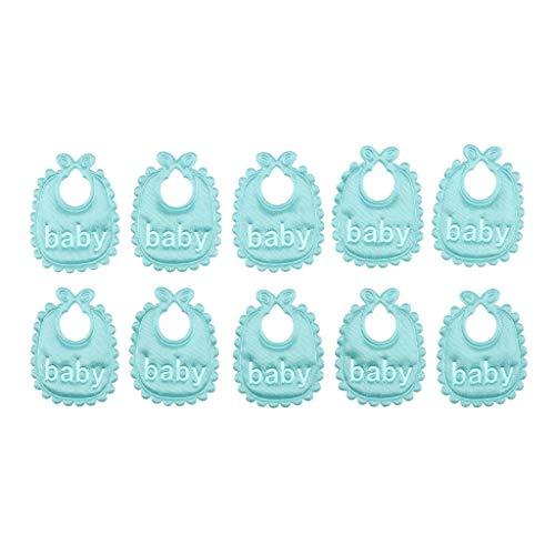 perfeclan 10 Piezas Hermosas Baberos Bebe Bandana de 1:12 Accesorio para Habitaciòn...