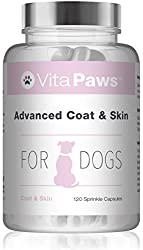 SUPPORTS THE APPEARANCE OF A HEALTHY COAT - Brewer's Yeast is a natural source of highly bioavailable B vitamins, which help to support healthy skin and fur. Each capsule also provides vitamin E and fish and flaxseed oils which contain the valuable o...