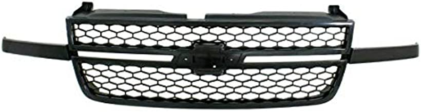 Koolzap For 03-07 Silverado SS Pickup Truck Front Grill Grille Assembly GM1200586 15276048