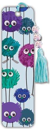Trends International Fuzzy Monsters - Beaded Bookmark