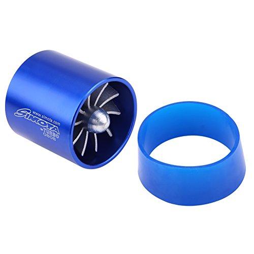 DEALPEAK Car Air Intake Turbonator Universal Supercharger Turbonator Cold Air Intake Fuel Saver Turbo Charge Fan Air Intake Super charger Turbo Fuel Gas Saver Fan