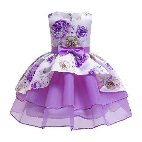 Wedding Party Birthday Dress Flores Lazo Irregular Vestido de Novia Chicas Cumpleaños...