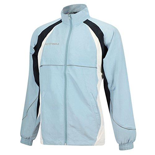 Veste de cyclisme Airtracks fonctionnelle – Veste de course – Coupe-vent – Respirant – Imperméable – Réflecteurs S bleu clair