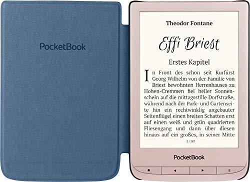 PocketBook Touch Lux 4 Limited Edition - Lector de Libros electrónicos (8 GB de Memoria, Pantalla de 15,24 cm/6 Pulgadas, Wi-Fi), Color Dorado Mate miniatura