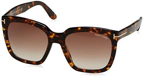Tom Ford FT0502 52F 55 Monturas de gafas, Marrón (Avana ScuraMarrone Grad), 55.0 Unisex Adulto