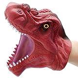 DIYARTS Dinosaurio Guantes Marionetas Mano Juego rol Realista Tiranosaurio Juguetes Cabeza Rex Jugue...