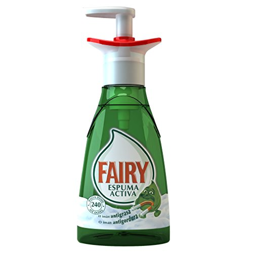 Fairy Espuma Activa - Lavavajillas, pack de 3x 375 ml (Total 1125 ml)