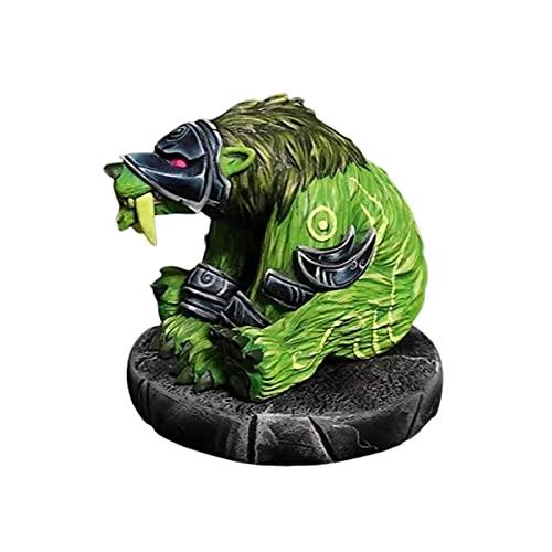 N A Will Shine World Of Warcraft - Figura decorativa de resina para monstruos, colección de modelos de personajes, se utiliza para decorar pequeños adornos en el hogar, dormitorio, monstruo (B)