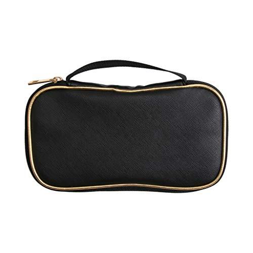 🍀Libobo🍀Portable Cosmetic Bags Black Cosmetic Brush Storage Bag