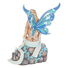Nemesis Now Jewelled Fairy Sapphire 19cm Figurine, Resin, Blue #2