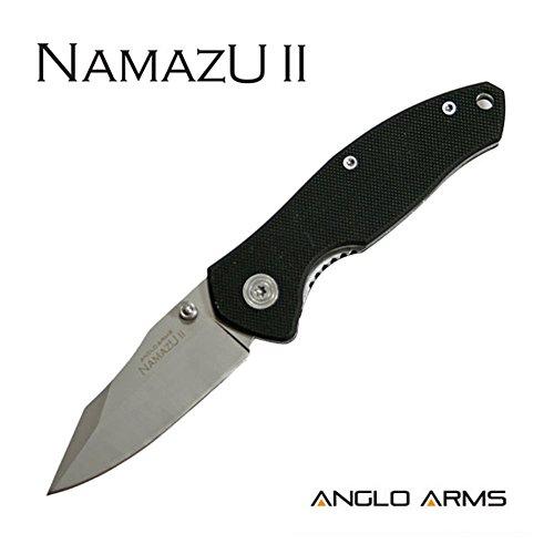 Anglo Arms Einhandmesser Namazu II Taschenmesser Jagdmesser Outdoor Survival