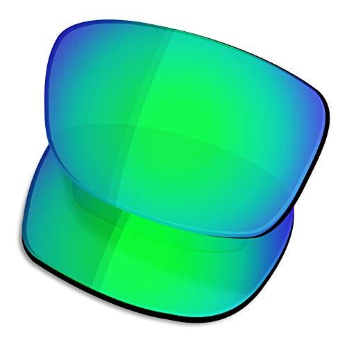 OSharp Performance Ersatzgläser für Oakley Fives Squared Sonnenbrille Gr. 0, Jadegrün – HD polarisiert