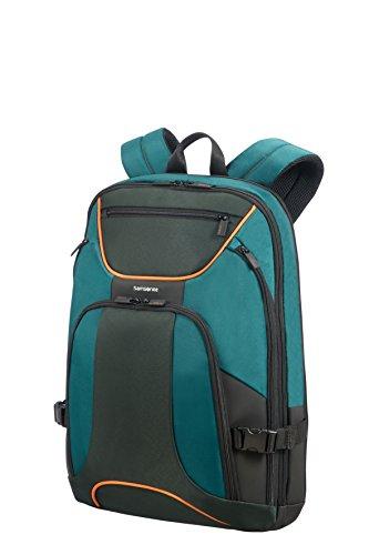 SAMSONITE Kleur - Backpack for 17.3' Laptop 0.9 KG Zaino Casual, 48 cm, 23 liters, Verde (Green/Dark Green)