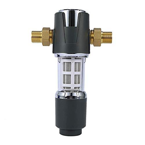 LHQ-HQ. 1INCH Turn 3 / 4Inch Pressure Control Große Fluss Pre-Filter Startseite Rückspül-Wasserrohr Druckregler Water Purifier