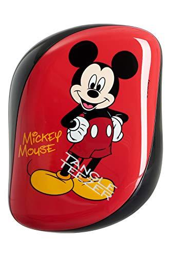Tangle Teezer - Cepillo para desenredar (tamaño compacto), diseño de Mickey Mouse de Disney