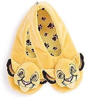 Calcetines para mujer de Disney The Lion King Footlets, tallas 3-5/6-8, suaves y acogedores