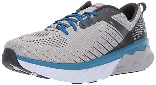 HOKA ONE ONE Men's Arahi 3 Running Shoes, Vapor Blue/Dark Shadow, 12 D(M) US