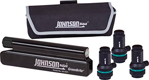 Johnson Level & Tool 40-6211 Magnetic Sheave Alignment Laser with Greenbrite Technology