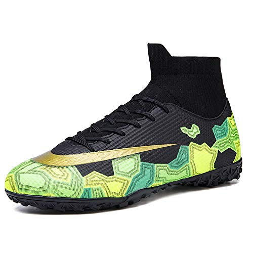 HongHe Kids Soccer Cleats Boys Youth Cleats Football Boots...