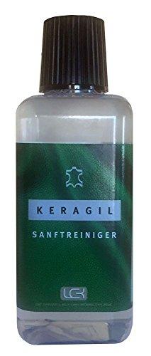 KERAGIL sanfter Reiniger für alle Lederarten 225 ml von LCK KERALUX. Für leichtere Alltagsverschmutzungen