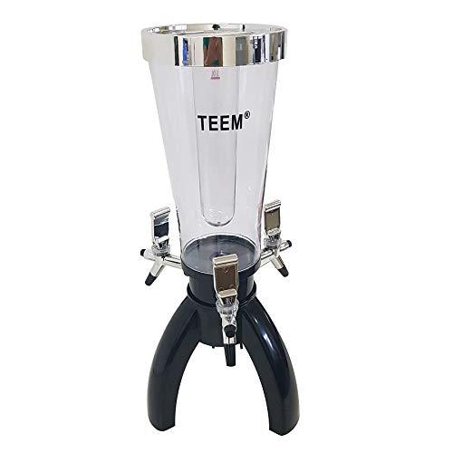 Torre de Chopp 3 Litros c/ 2 Refis de Gelo e 03 Torneiras - TM 2659