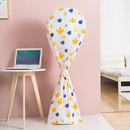 jinshang Cubierta de polvo para ventilador paquete completo tridimensional cubierta para ventilador eléctrico de escritorio mediano estilo verano