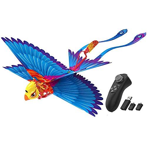 avail GoGoBird ゴーゴーバード 鳥型ドローン 本物の鳥のはばたき 簡単操作 予備バッテリー付き(ブルー)