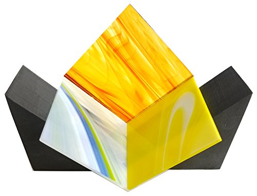 Handy Wedge by Creator's - A Pair of Triangular Foam Shapes for Aligning and Holding Multiple Shapes Into A Geometric Pattern Such As A Right Angle Or Cube.